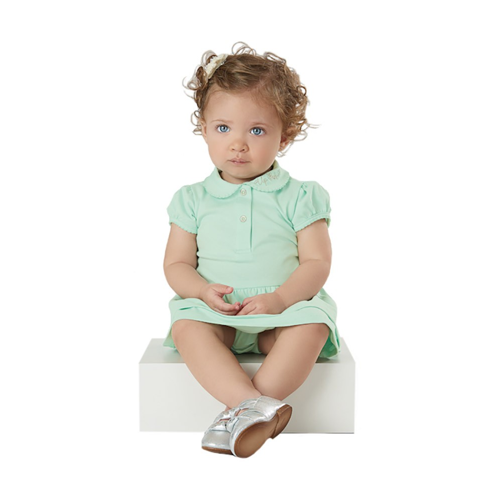 Vestido Body Pólo Up Baby Verde