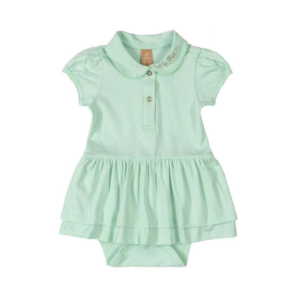 Vestido Body Pólo Up Baby Verde