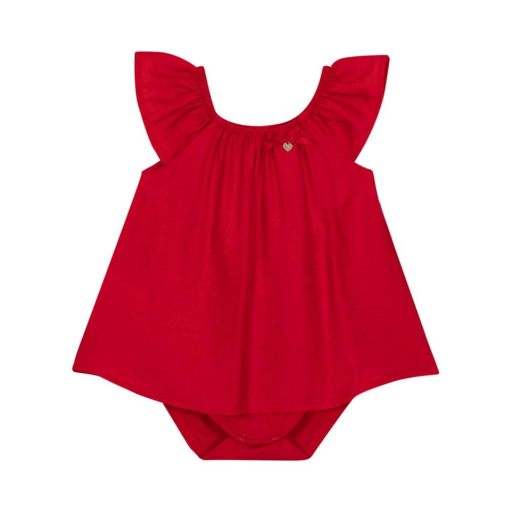 Vestido Body Vermelho Nini Bambini