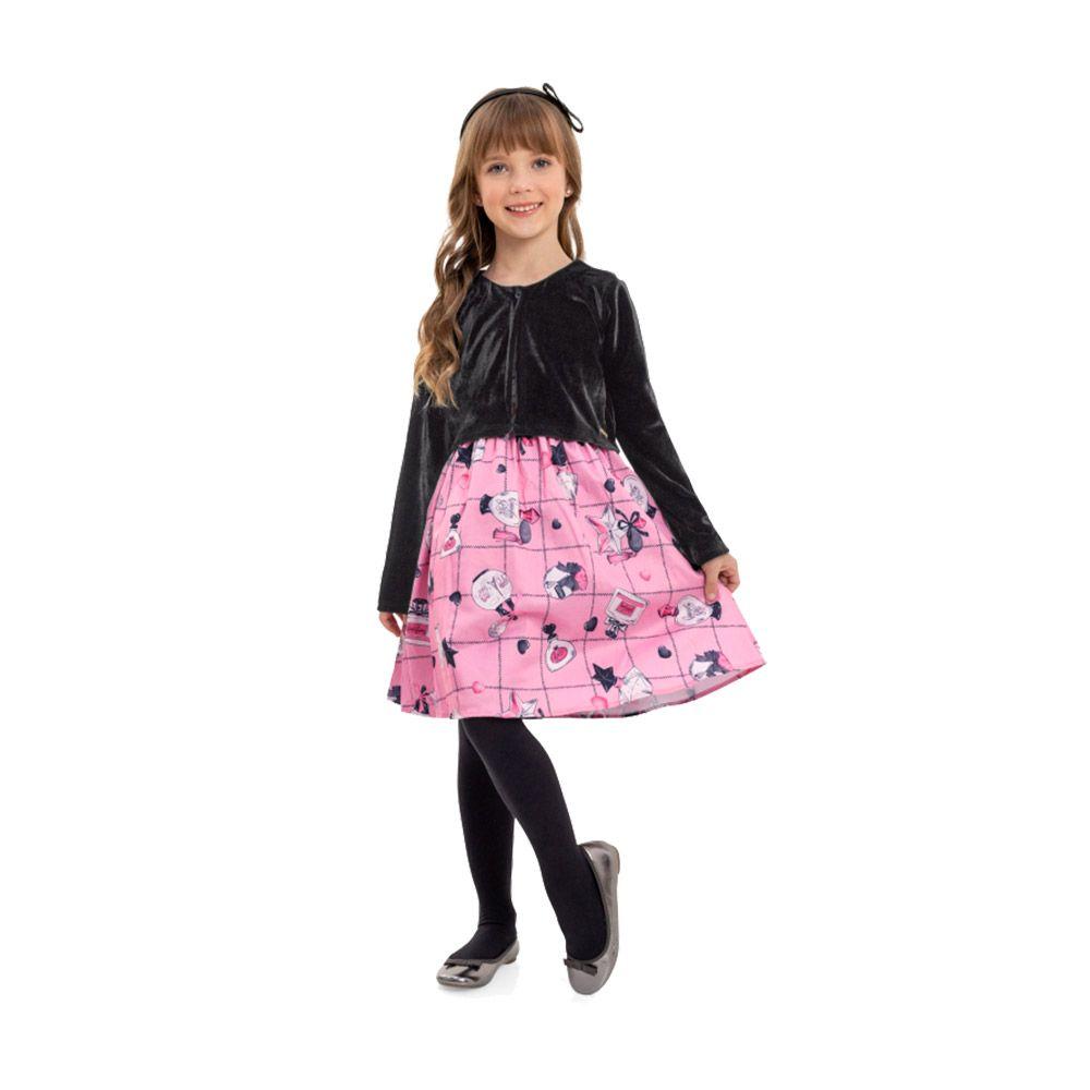 Vestido Boutique Rosa