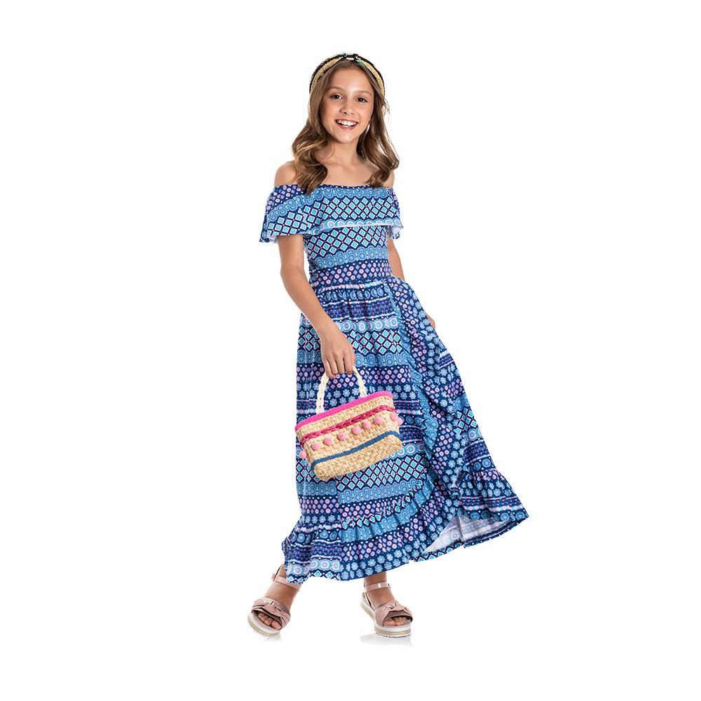 Vestido Ciganinha Étnico