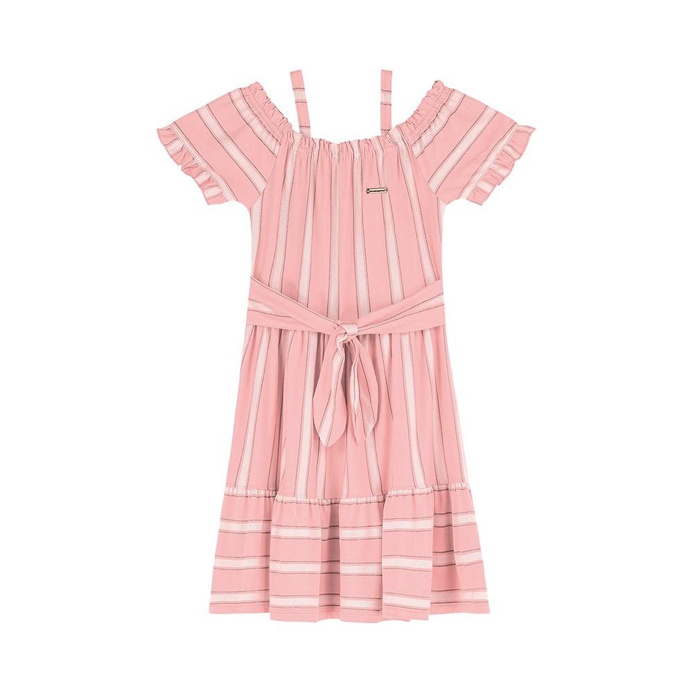 Vestido Ciganinha Rosa Colorittá