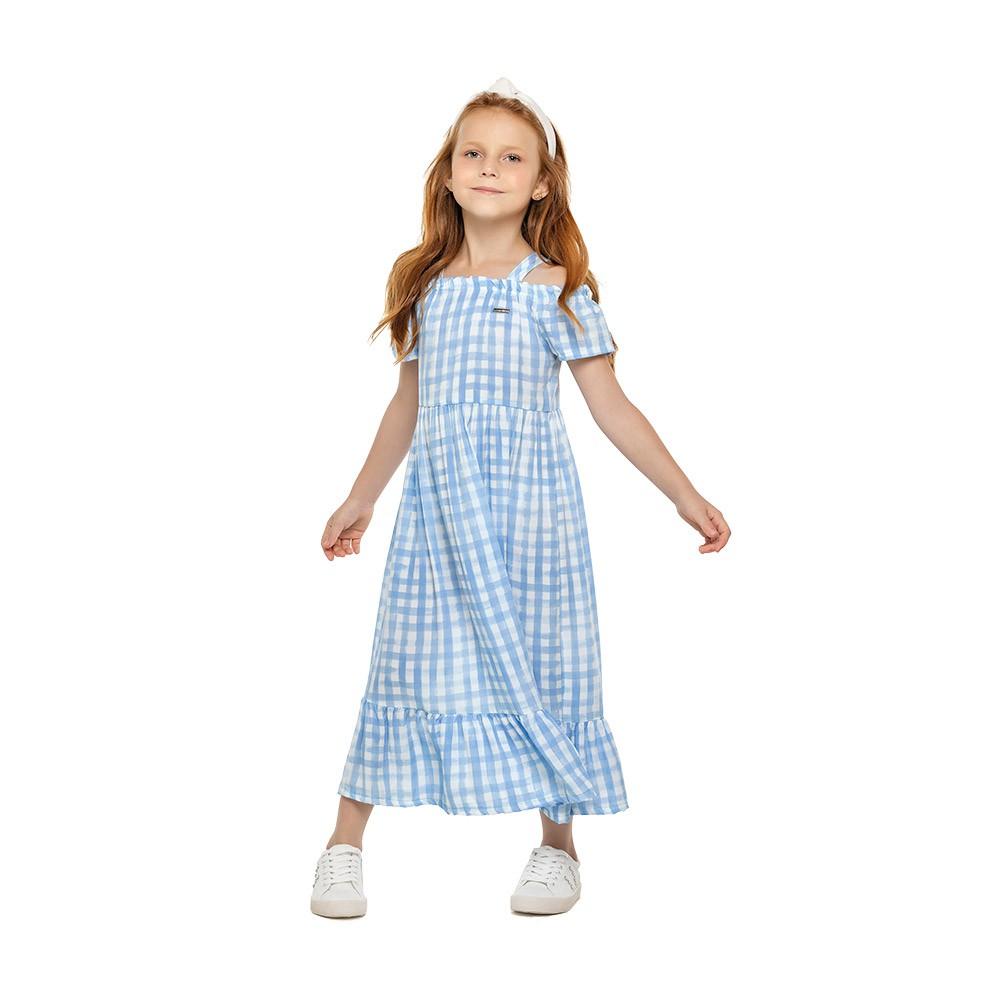 Vestido Ciganinha Xadrez Colorittá