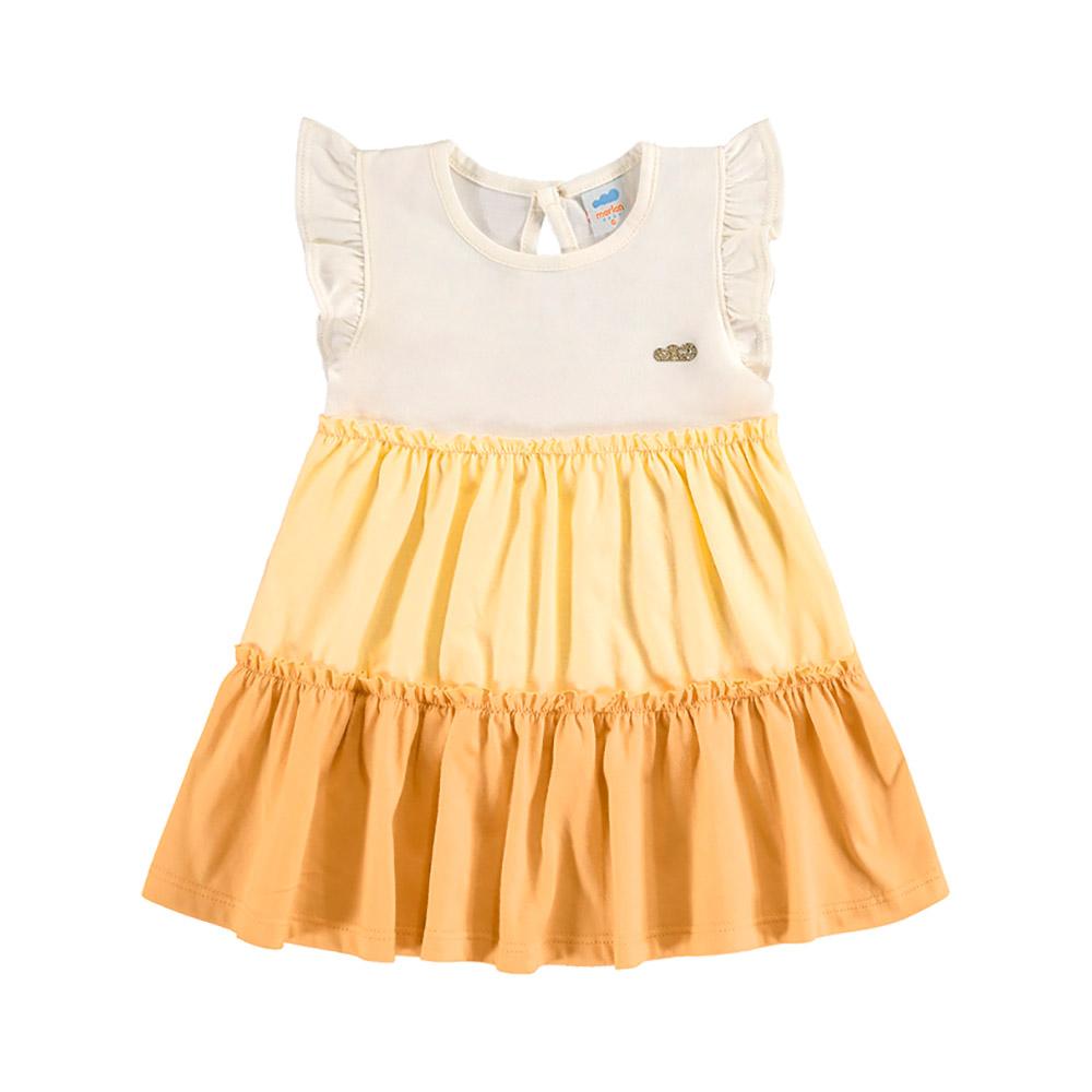 Vestido Cores Marlan Amarelo