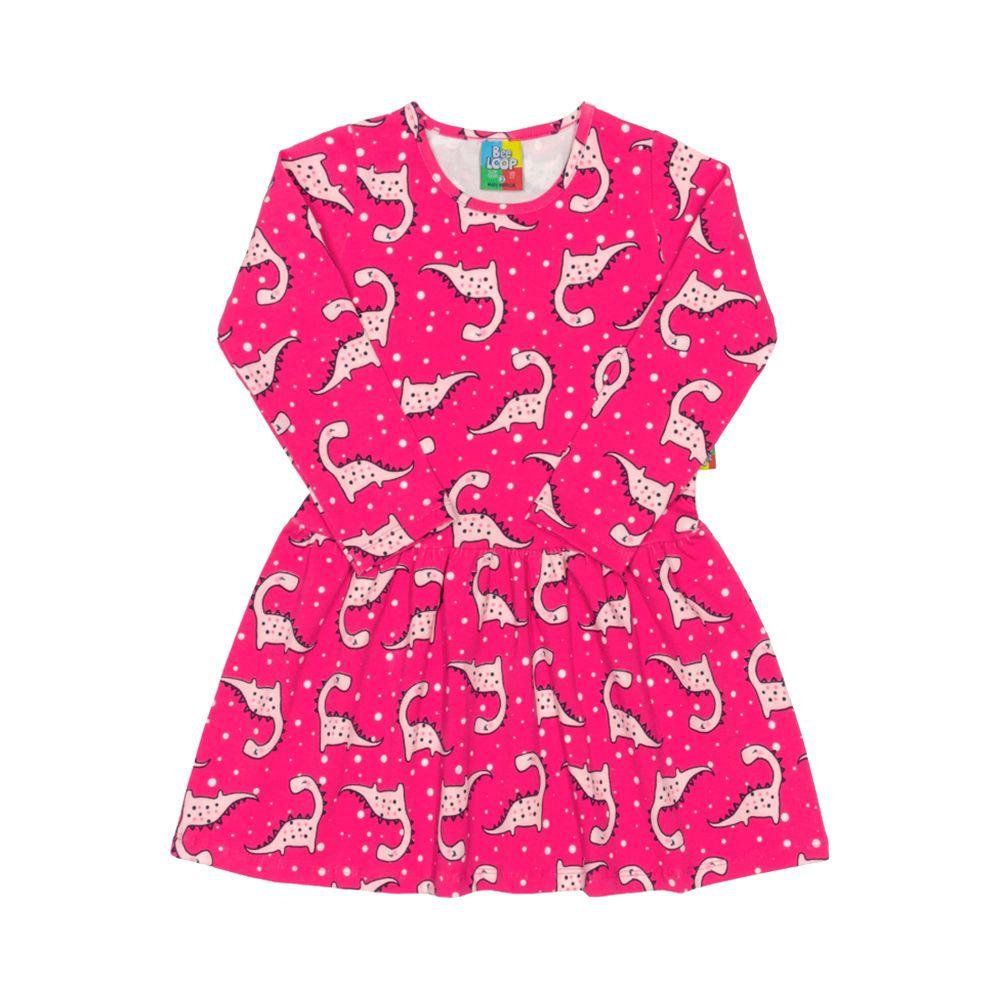 Vestido Dinos Pink