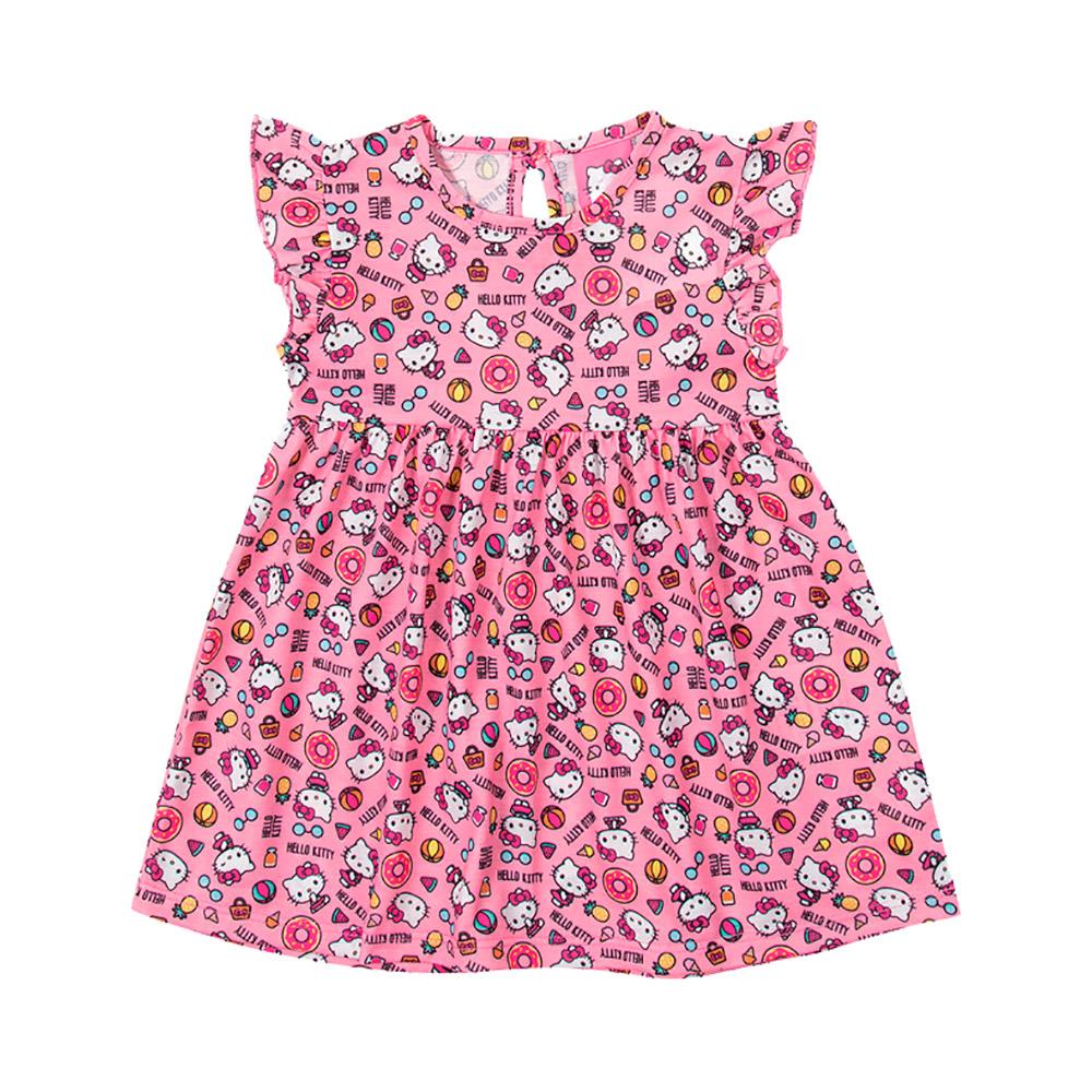 Vestido Estampado Hello Kitty