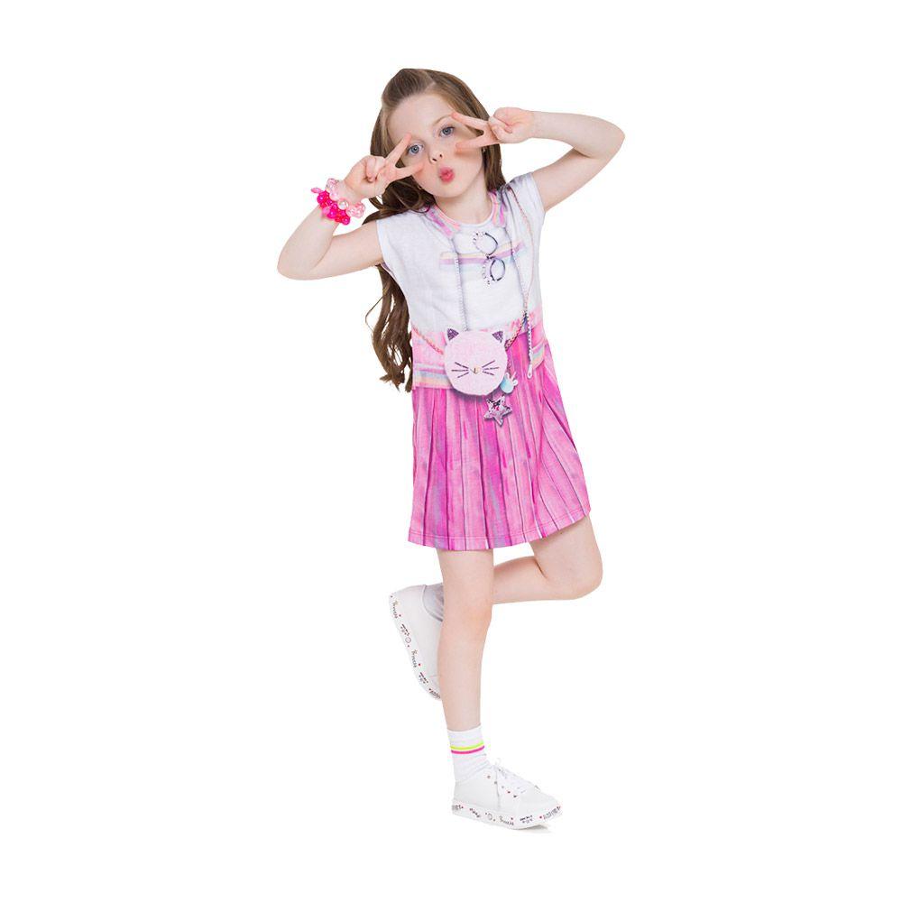 Vestido Fashionista Rosa