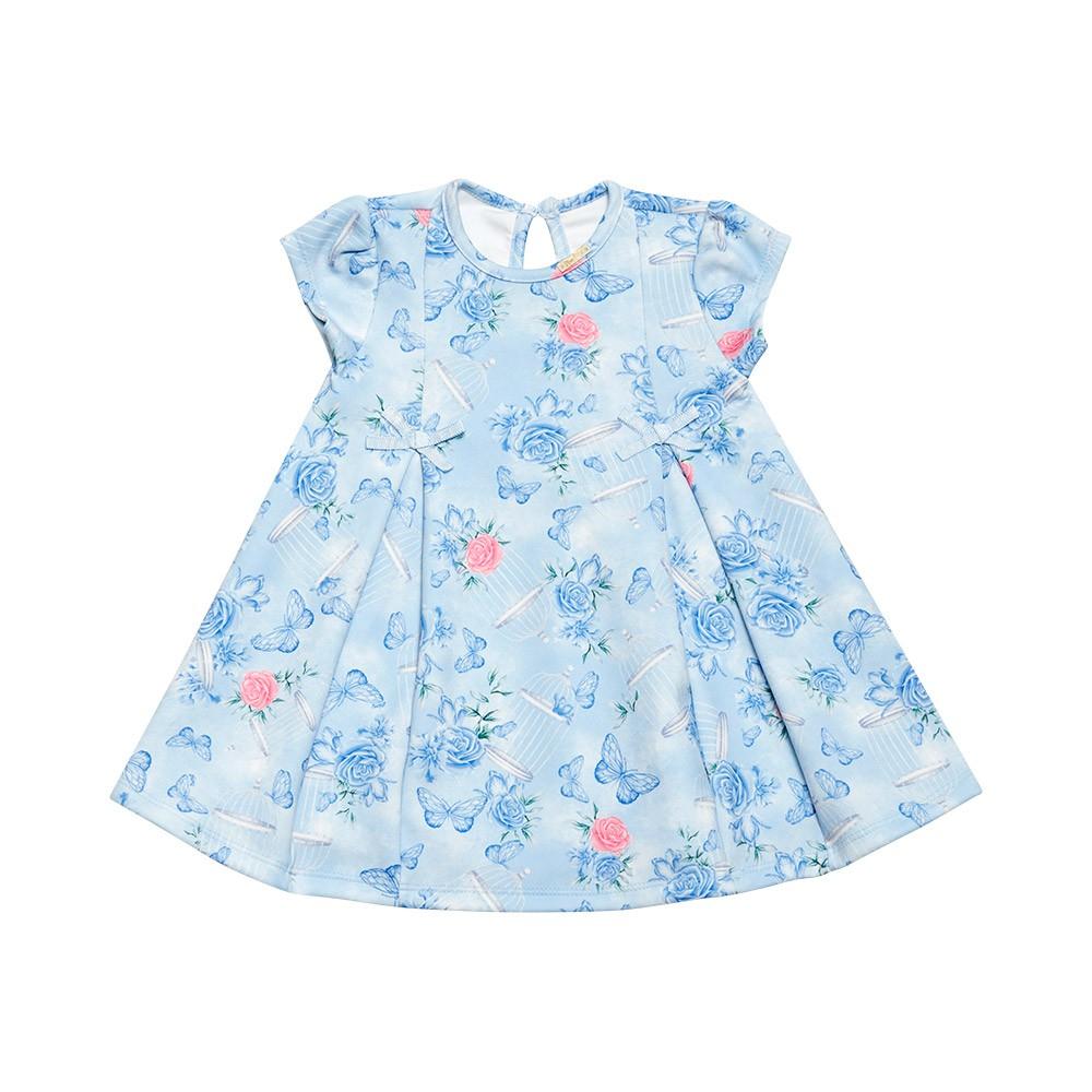 Vestido Floral Blue Nini Bambini