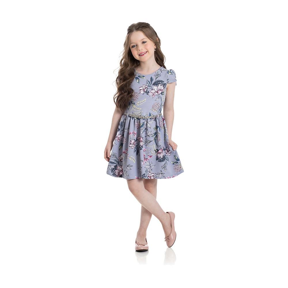 Vestido Floral Lavanda