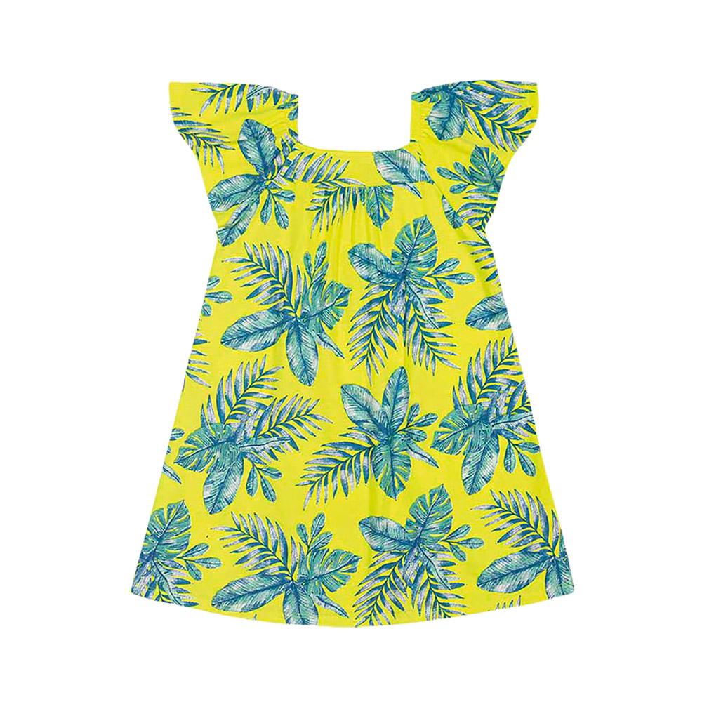 Vestido Folhas Nanai