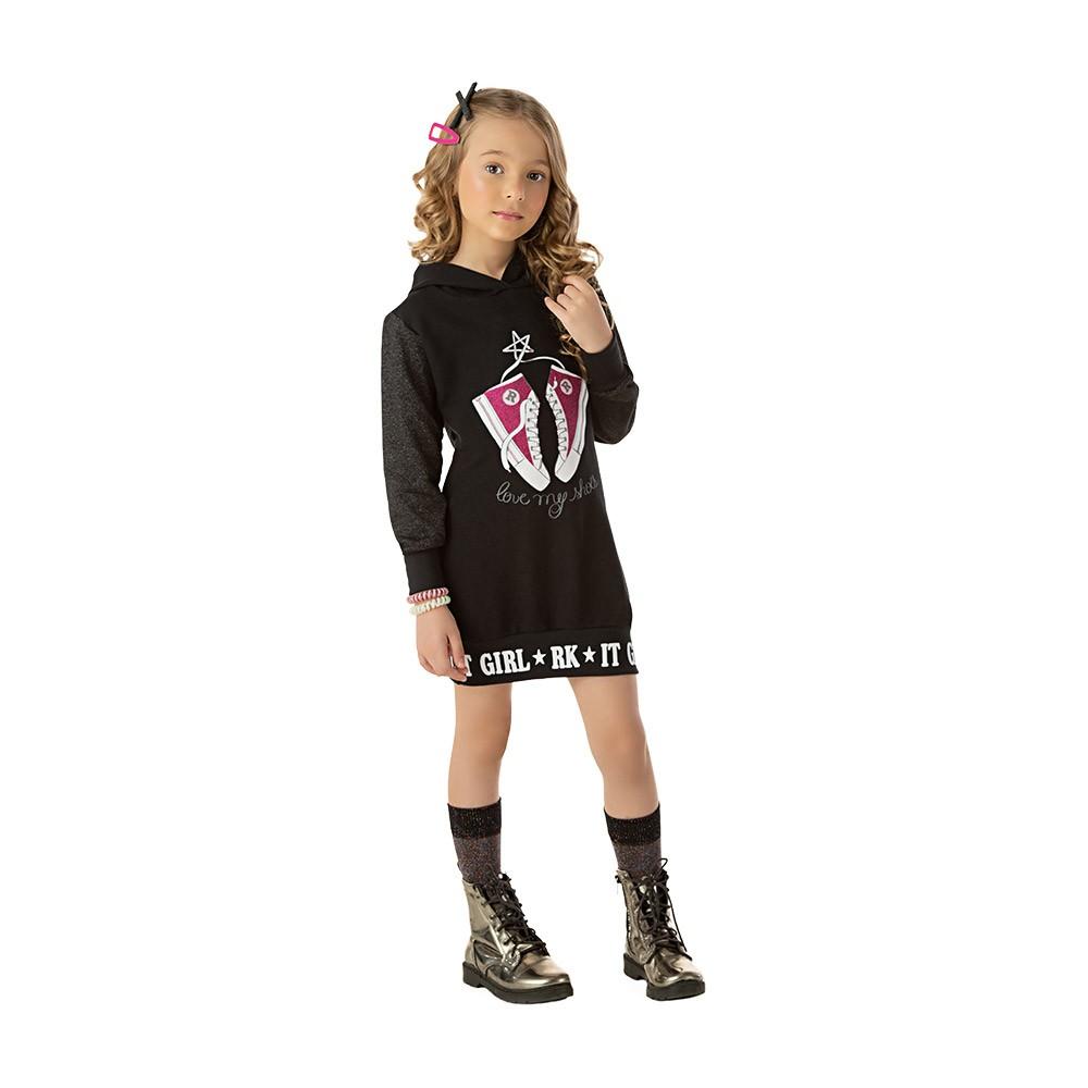 Vestido Girl com Capuz