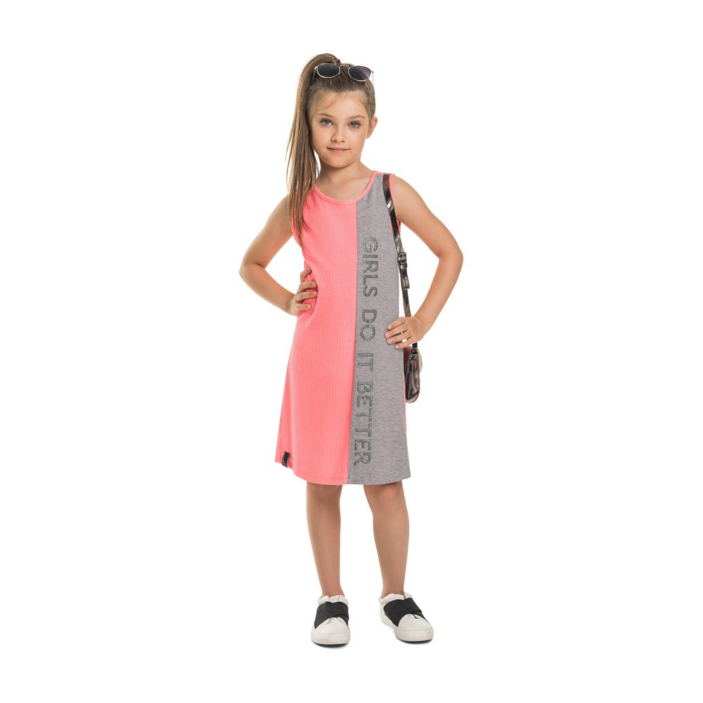 Vestido Girls Gloss Neon