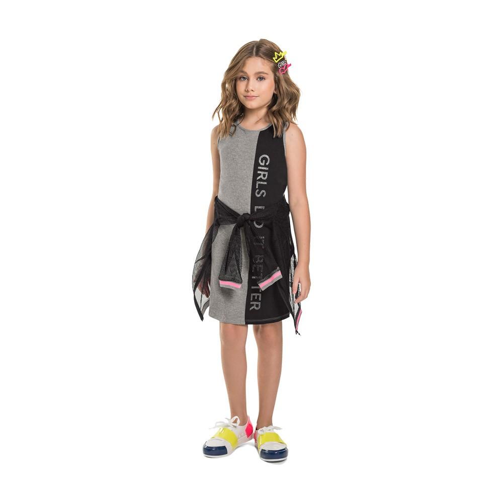 Vestido Girls Gloss Preto