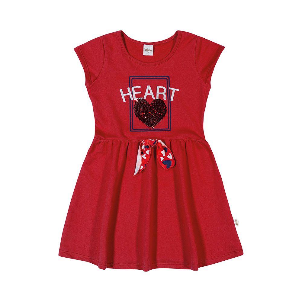 Vestido Heart Vermelho