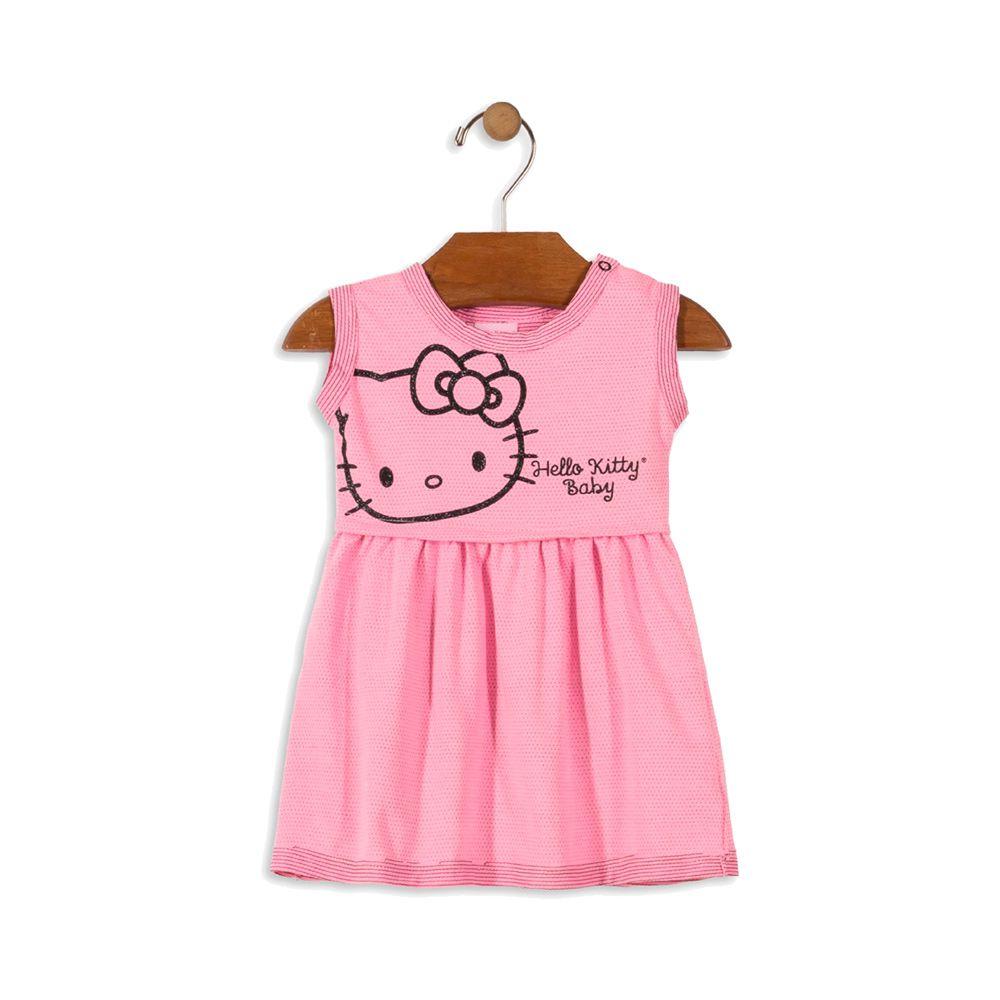 Vestido Hello Baby Rosa