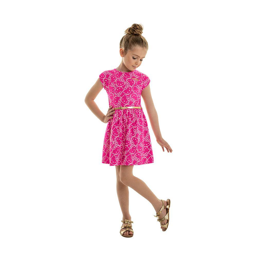 Vestido Hello Chic Rosa