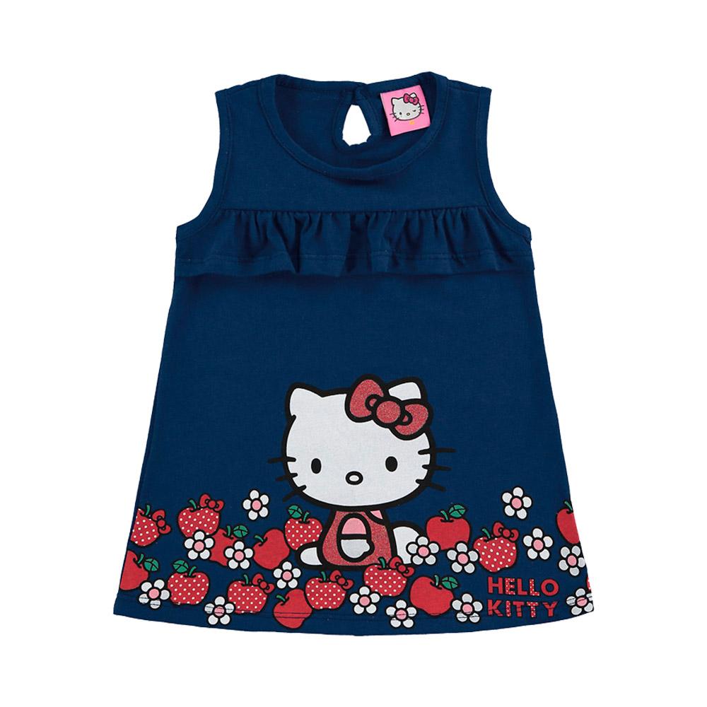 Vestido Hello Kitty Babados -  Oficial Sanrio