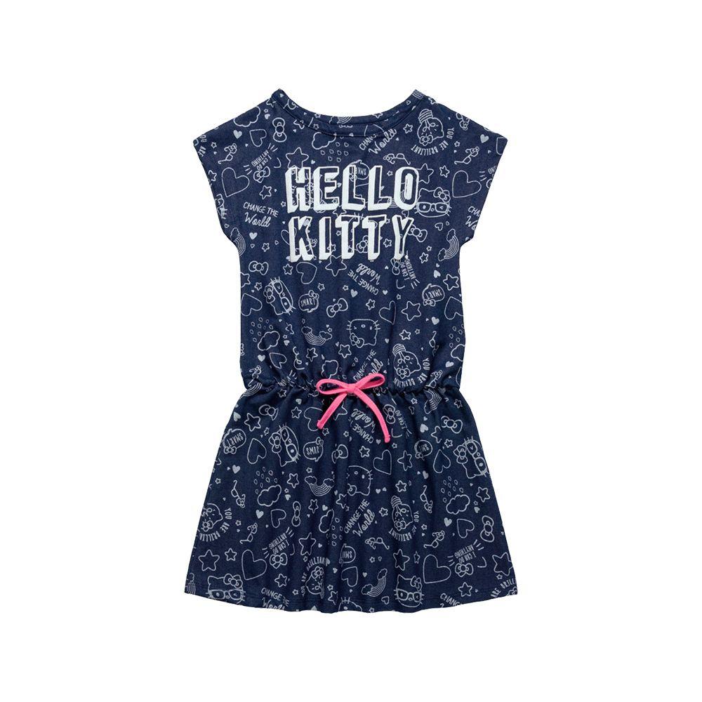Vestido Hello Pettit Azul Jeans