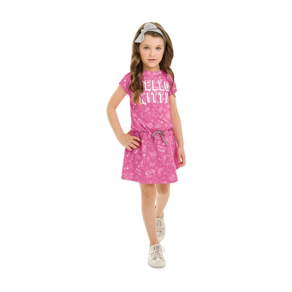 Vestido Hello Pettit Rosa Jeans