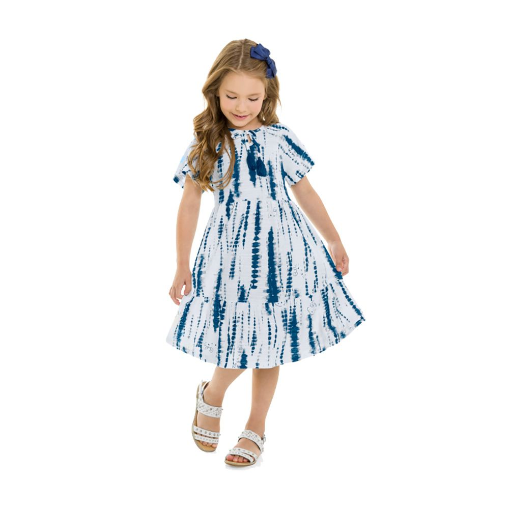 Vestido Hello Spring Azul