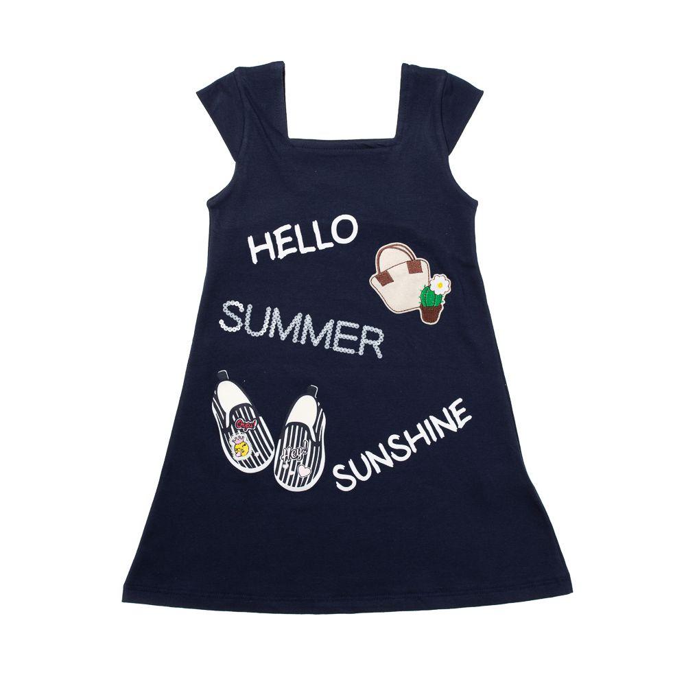 Vestido Hello Summer Azul