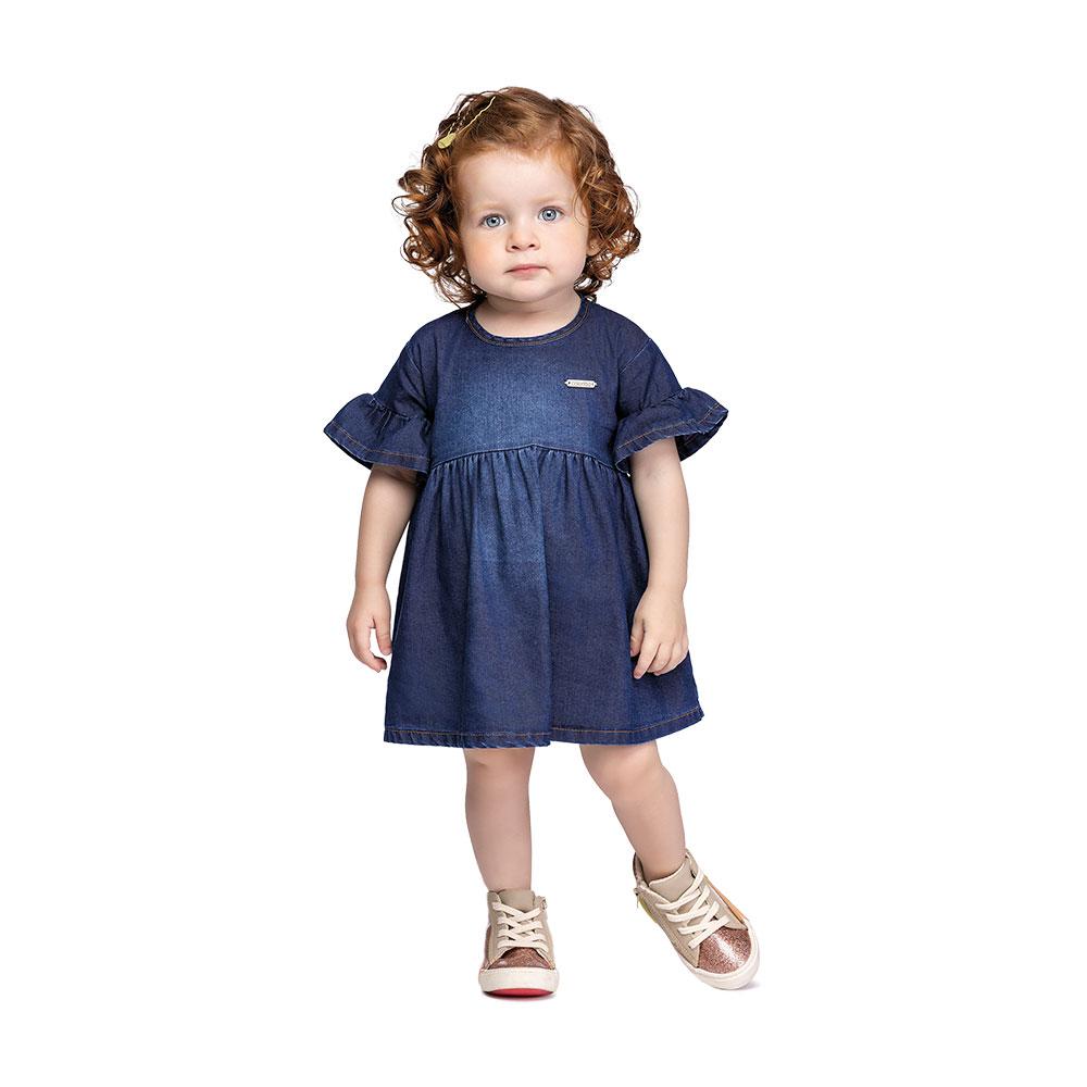 Vestido Jeans Baby Colorittá