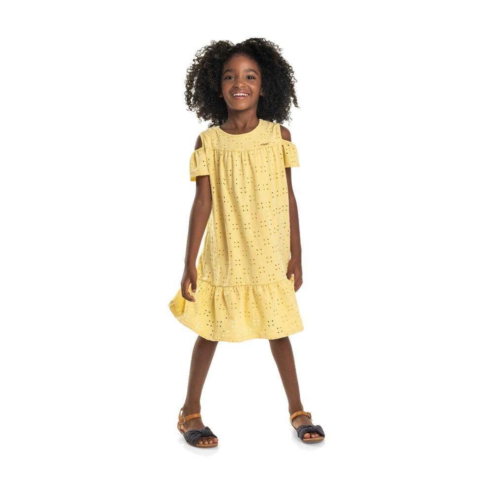 Vestido Laise Amarelo