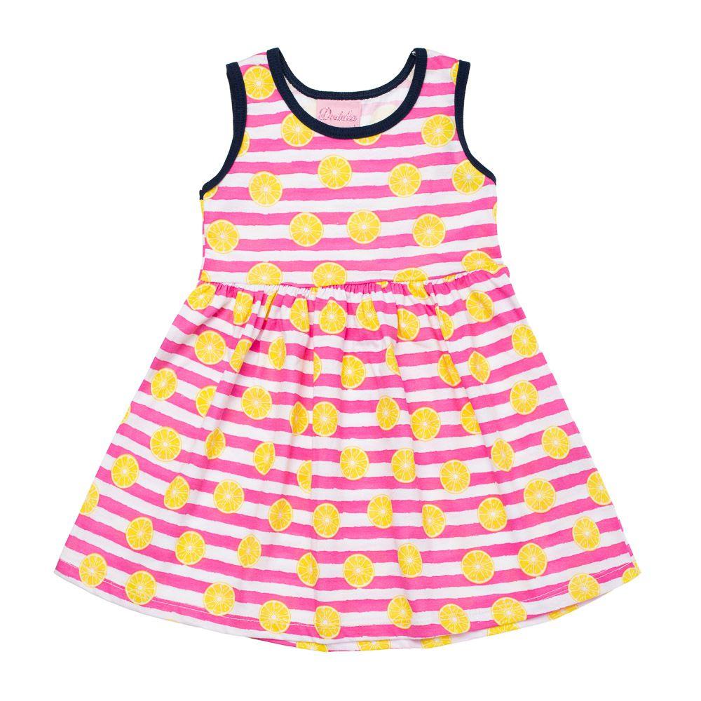 Vestido Laranjinhas Kids Pink