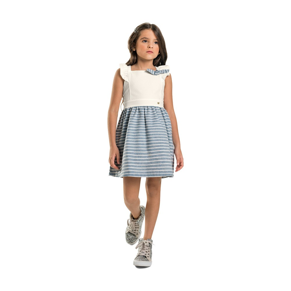 Vestido Listras Quimby