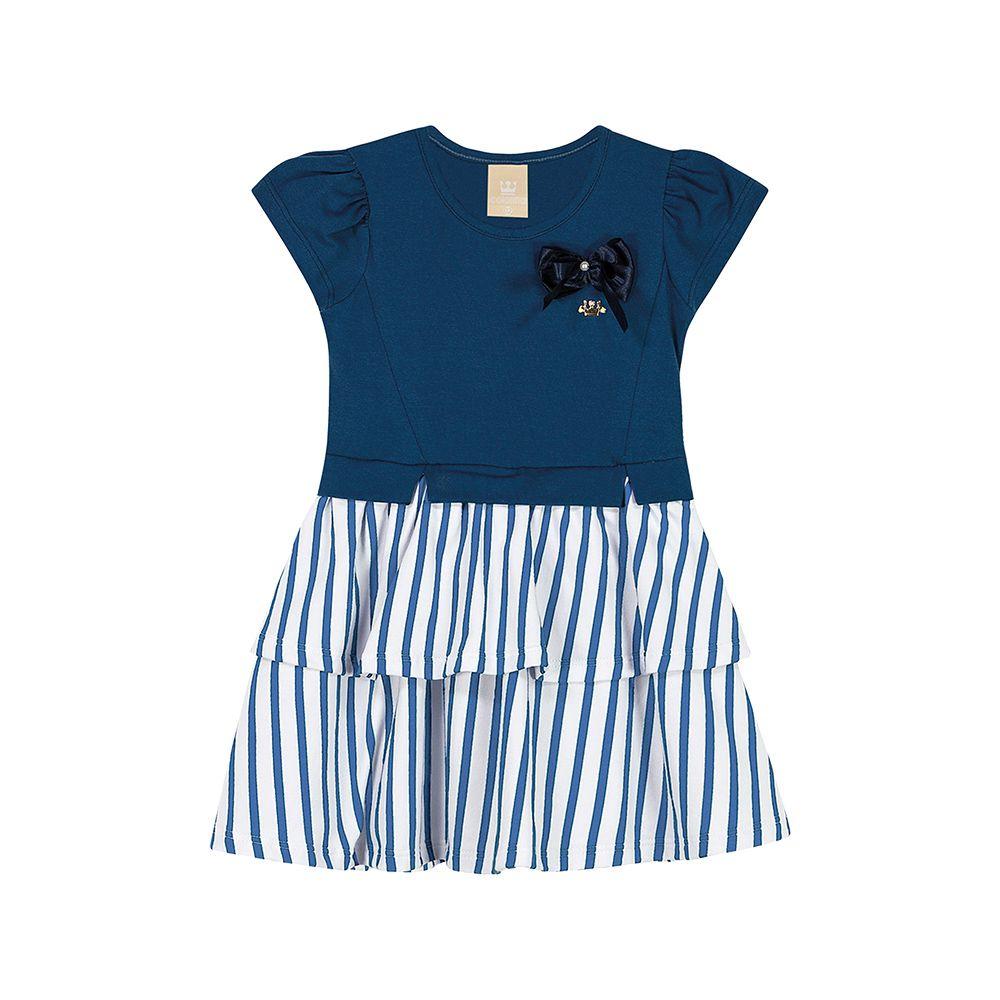 Vestido Liz Azul Colorittá