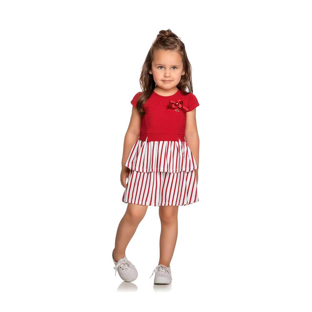 Vestido Liz Vermelho Colorittá