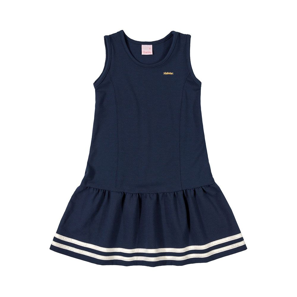 Vestido Marine Azul Marinho