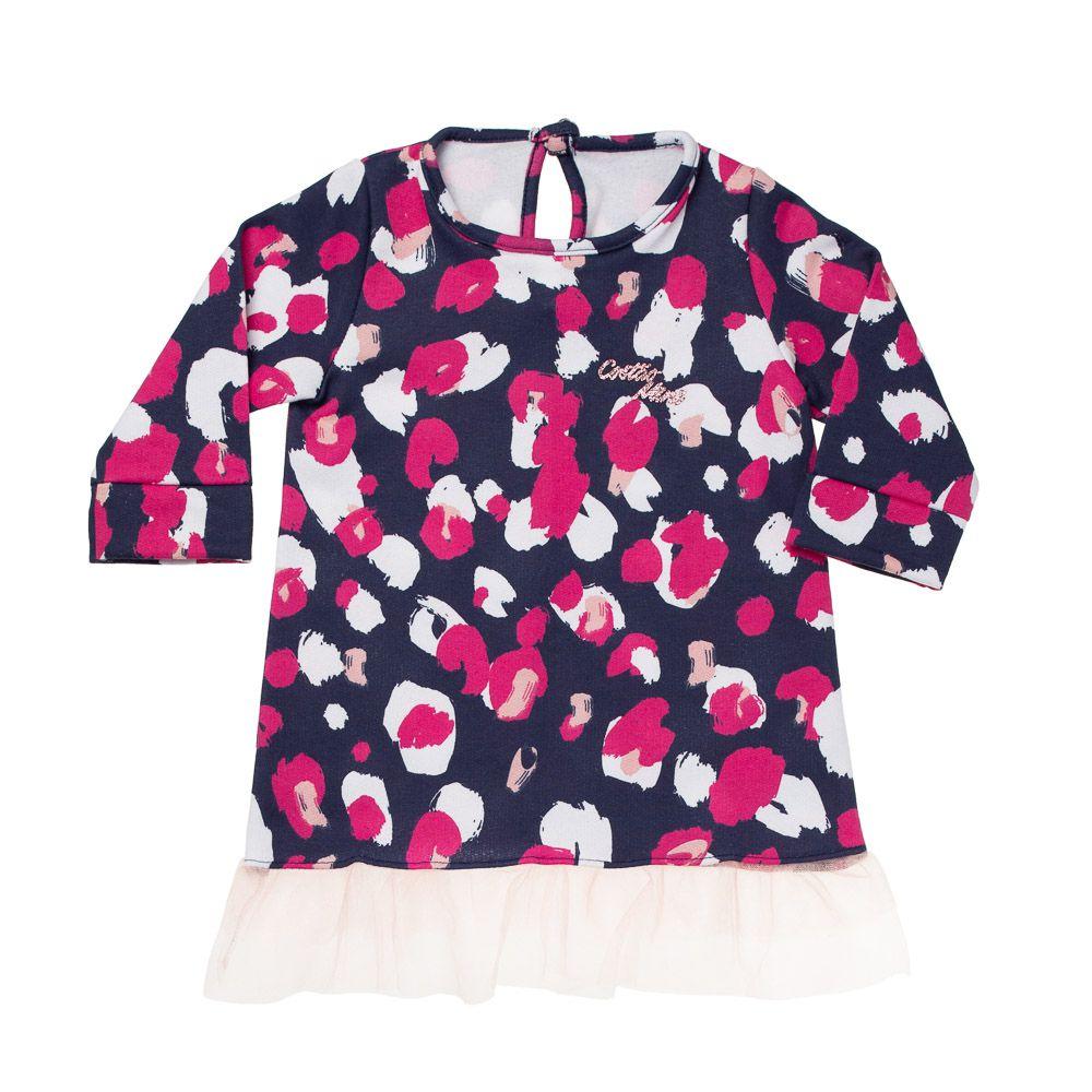 Vestido Mini Fashionostas Marinho