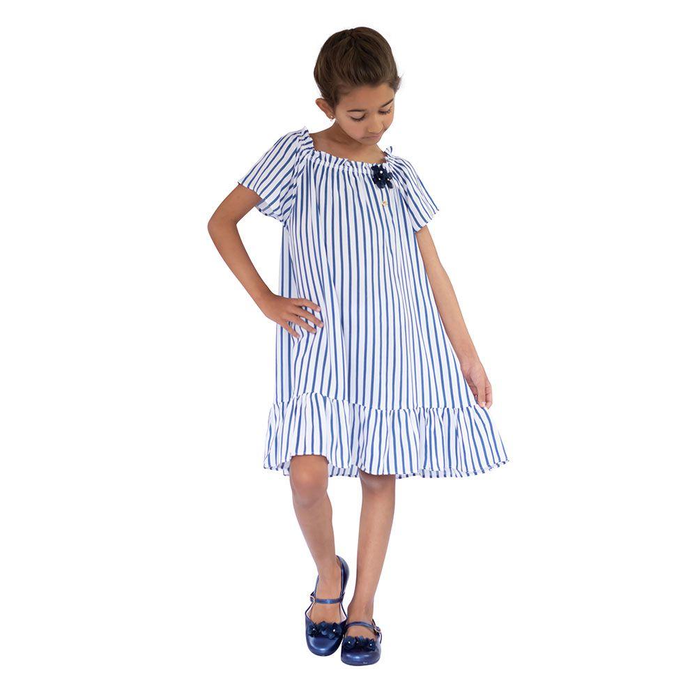 Vestido Mylady Azul
