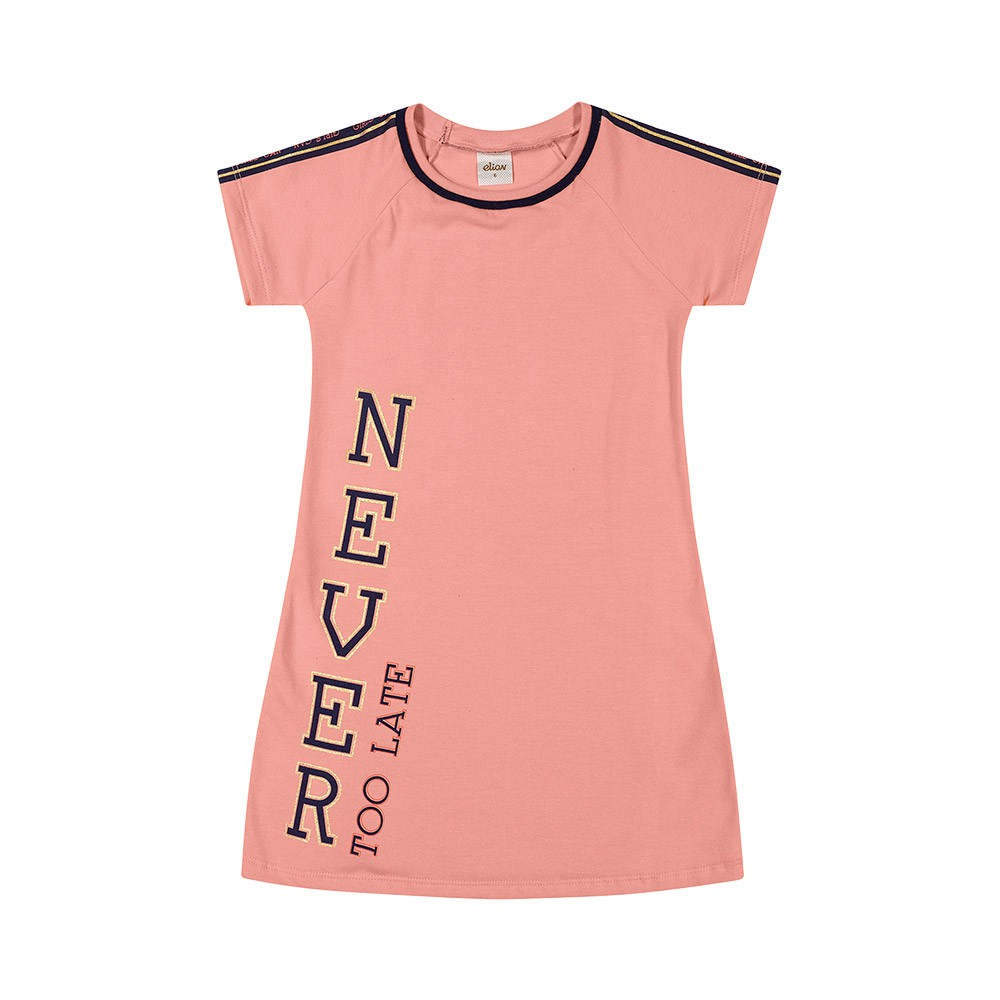 Vestido Never Too Late Rosa
