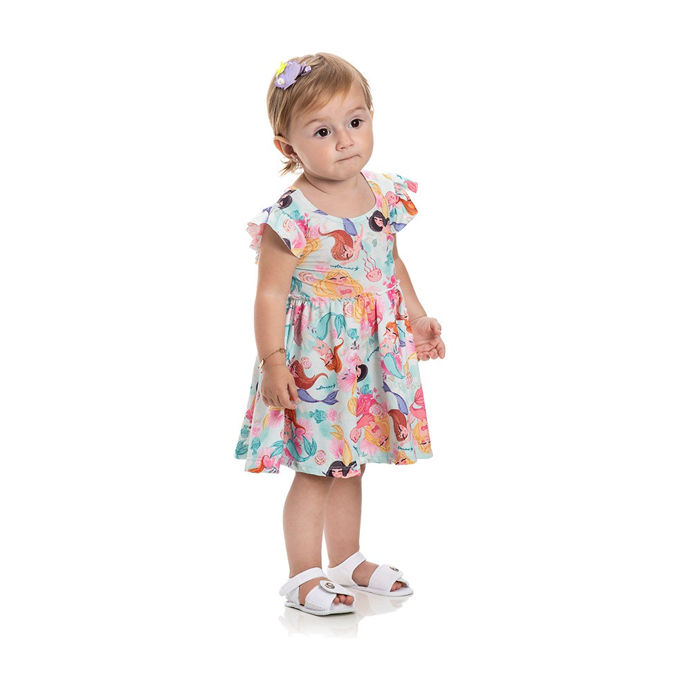 Vestido Pequenas Sereias