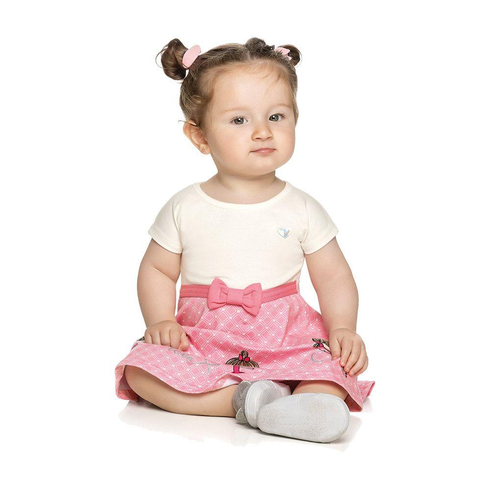 Vestido Petit Bailarina Creme