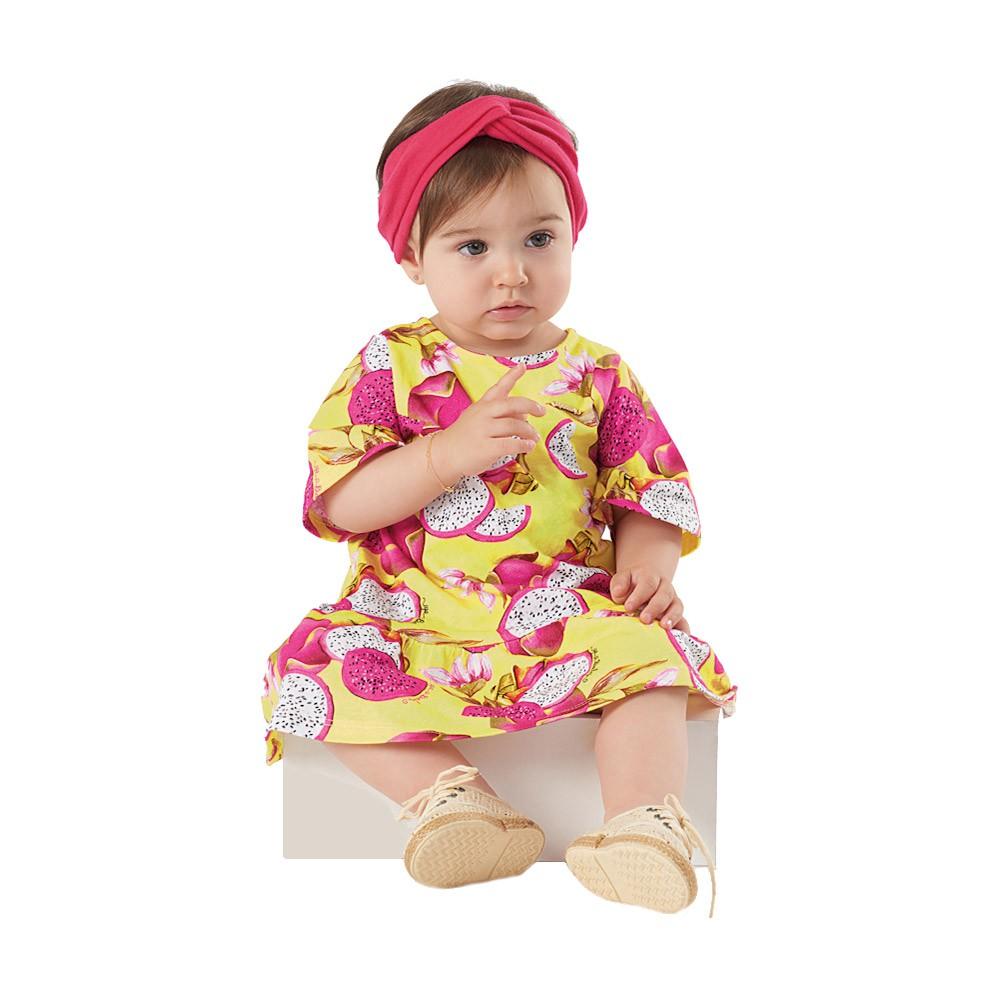 Vestido Pitaya Amarelo