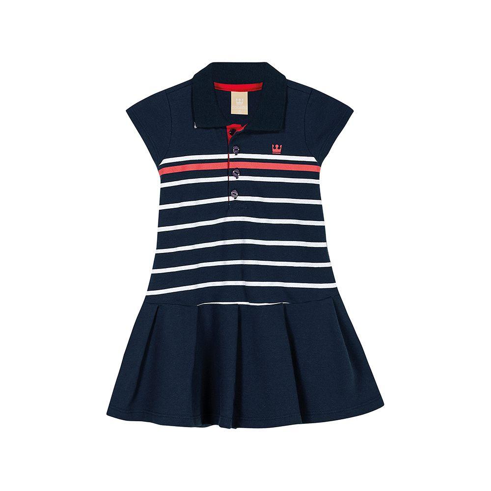 Vestido Polo Colorittá Marinho