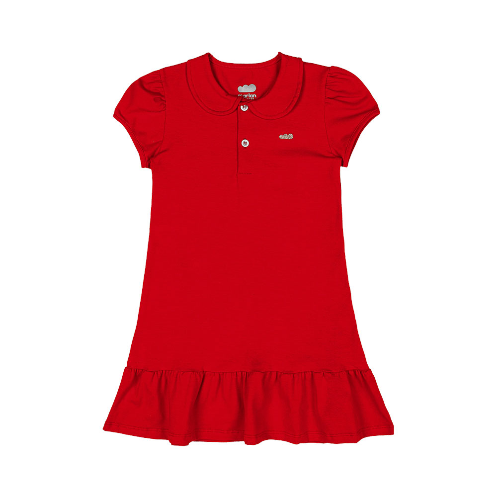 Vestido Pólo Marlan Vermelho