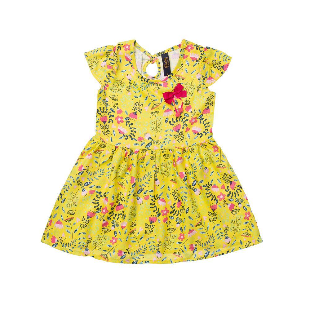 Vestido Primavera Amarelo
