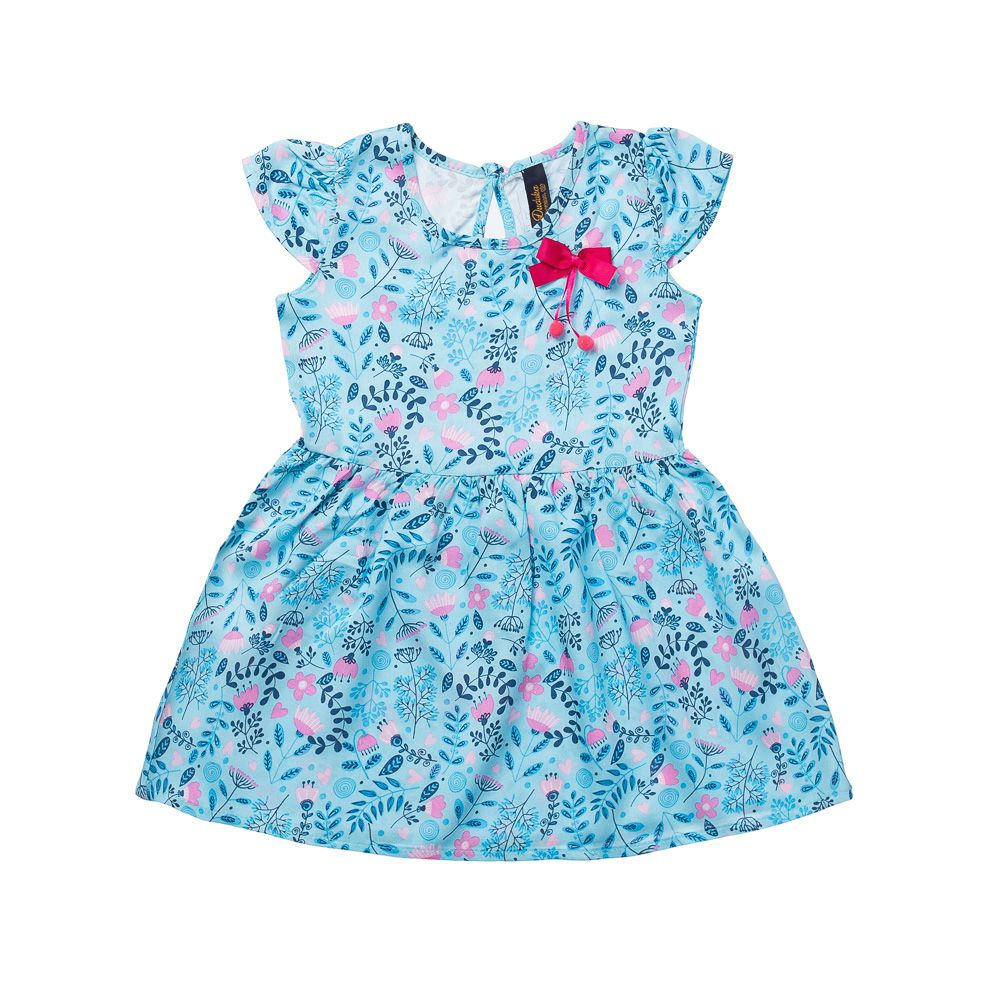 Vestido Primavera Azul