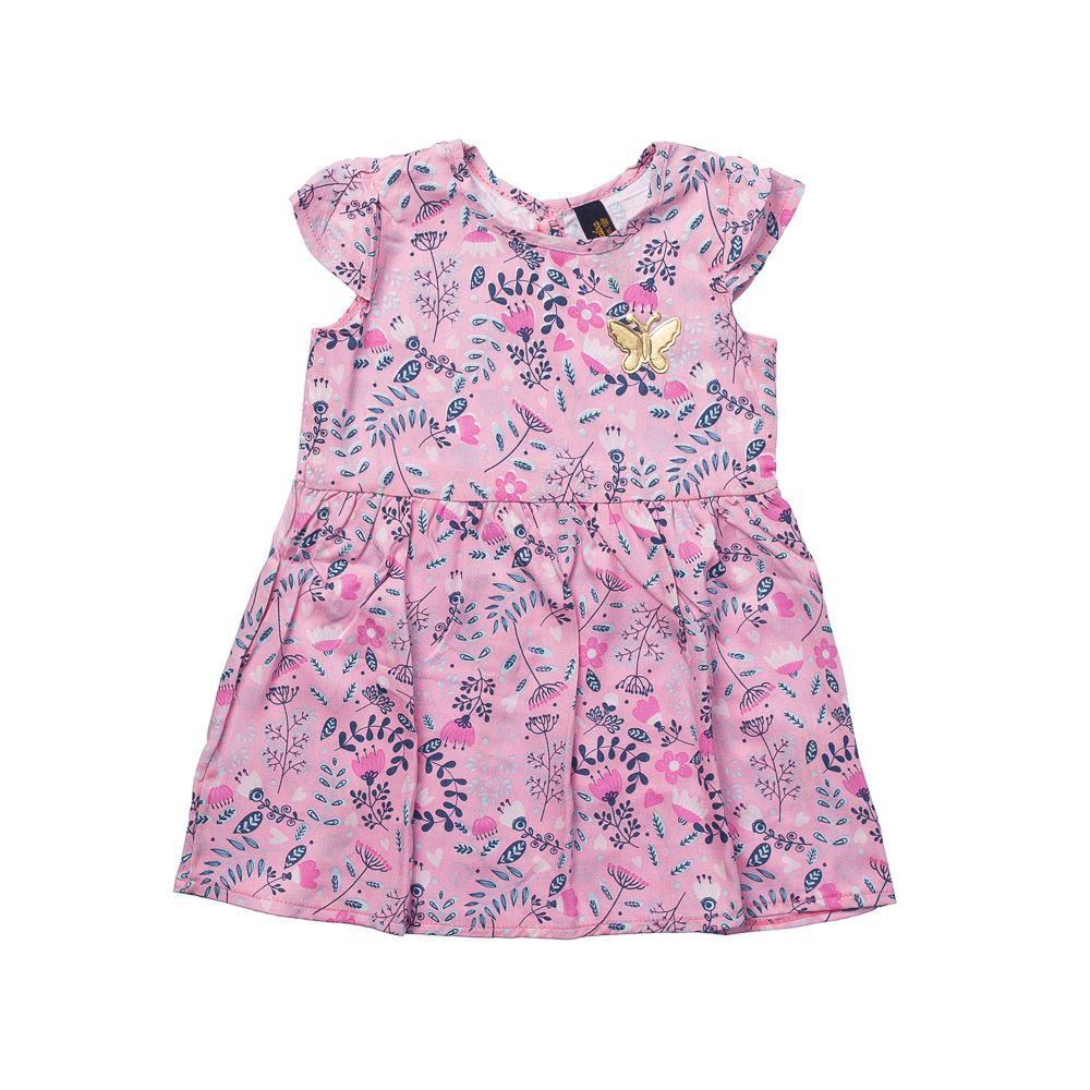 Vestido Primavera Baby Rosa