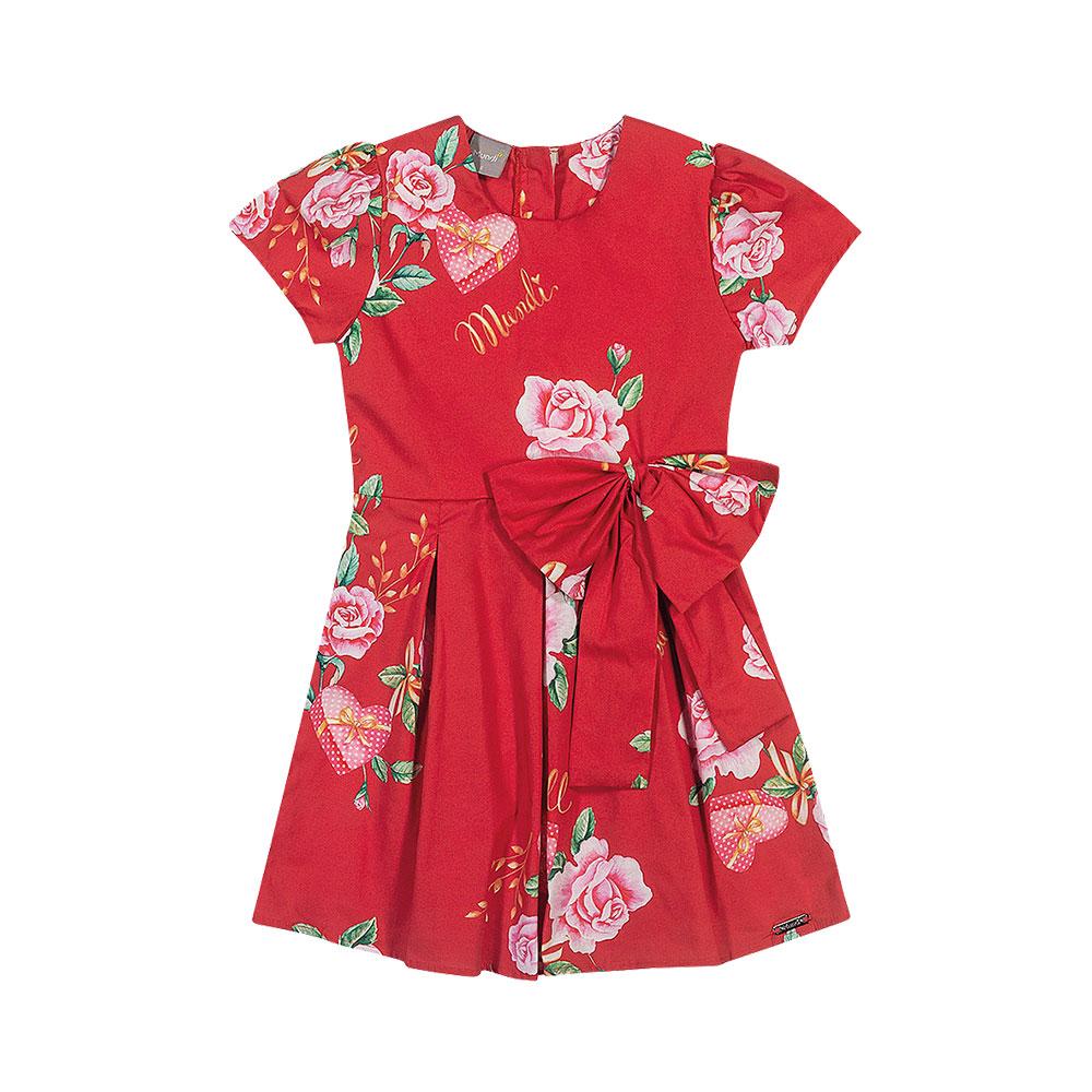 Vestido Rosas Mundi