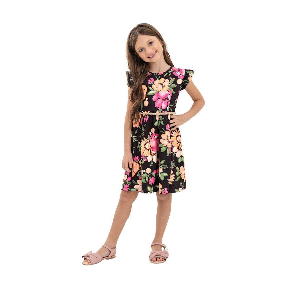 Vestido  Serena Preto