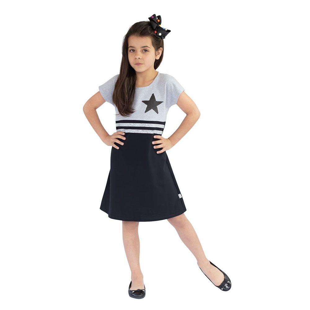 Vestido Stars Preto