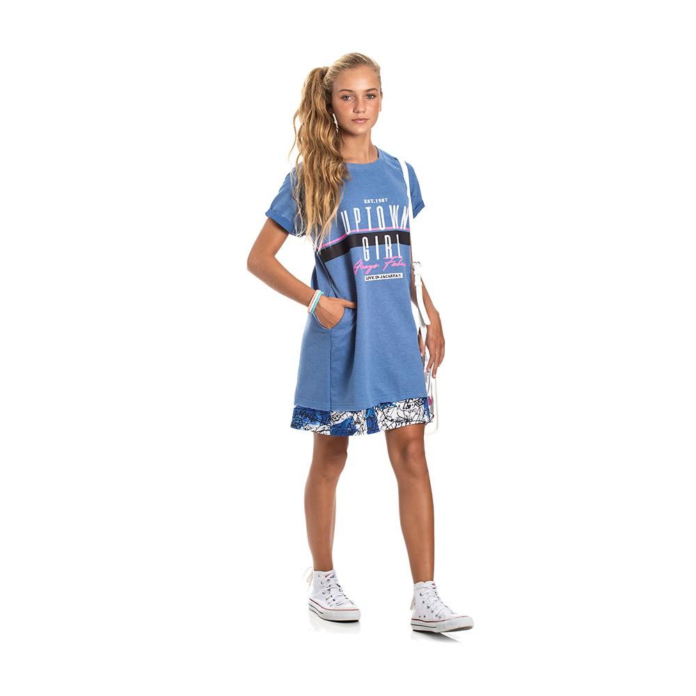 Vestido Street Azul