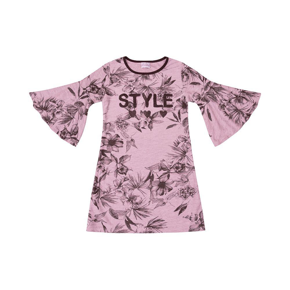 Vestido Style Rosa