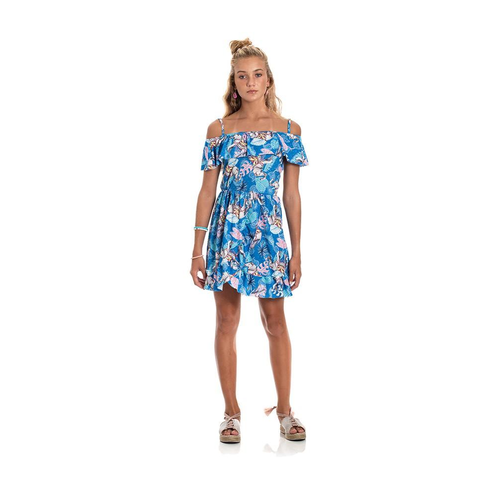 Vestido Tanah Azul