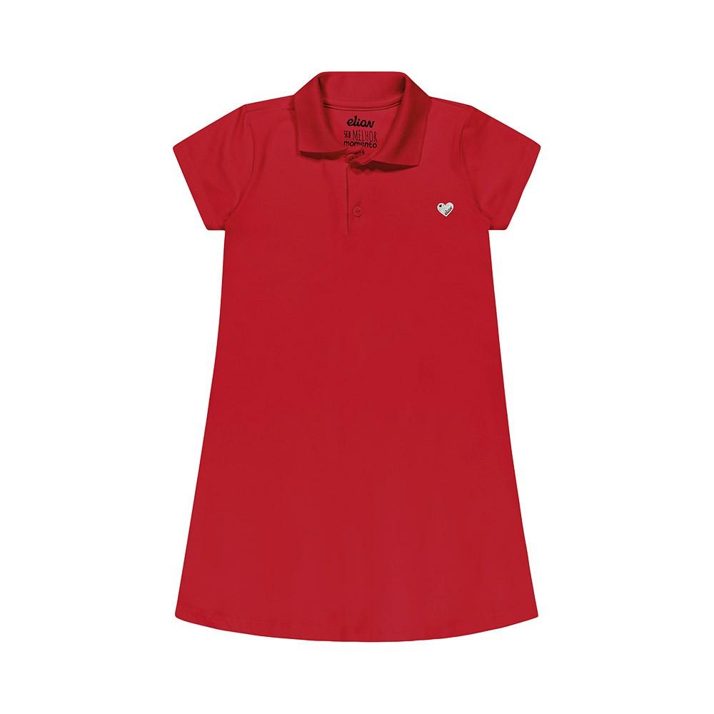 Vestudo Pólo Cotton Vermelho